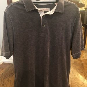 Tommy Bahama Short Sleeve Polo Gray